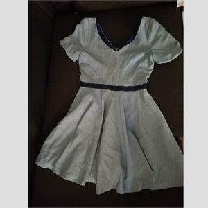Skater Dress Light Blue